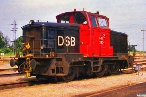 DSB MH 362. Padborg 01.07.1988.