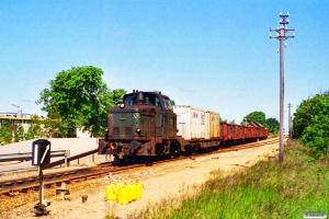 DSB MH 315 med G 7740 Rj-Øg. Lem 24.06.1994.