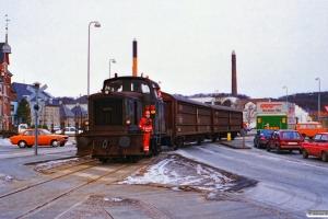 DSB MH 341. Vejle 05.02.1996.