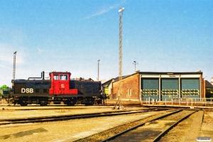 DSB MT 155. Nyborg Færge 28.05.1997.