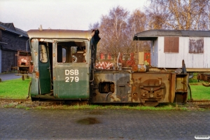 DSB Køf 279. København 02.12.2000.