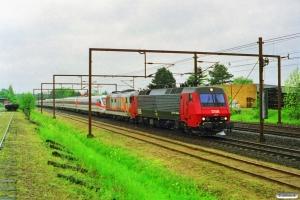 DSB EA 3017+FS D 445 1037+FS ETR 480 som M 6218 Pa-Kh. Odense 21.05.1997.