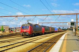 DSB EA 3001+ME 1516 med G 9140 Od-Gb. Odense 10.06.1997.