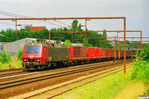 DSB EA 3001 med GK 8762 Gb-Pa. Odense 16.08.1997.