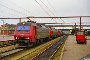 DSB EA 3020+MZ 1437+MY 1127+MY 1125+MY 1153+MY 1126 som M 6221 Gb-Fa. Fredericia 09.10.1997.