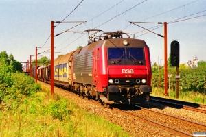 DSB EA 3013 med GD 40766 Pa-Gb. Km 155,6 Kh (Marslev-Odense) 03.09.1999.