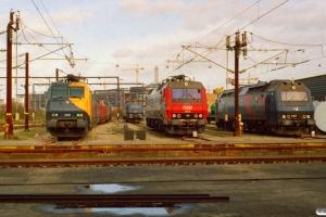 RDK EG 3109, MZ 1418, MZ 1412, DSB EA 3002, ME 1527 og ME 1505. København 10.03.2007.