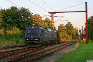 DSB Køf 285+EA 3022. Padborg 28.07.2012.