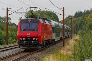DSB EA 3022 med RØ 4316 Sg-Hgl. Km 85,0 Kh (Sorø-Slagelse) 15.08.2019.