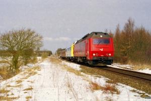 DSB ME 1511+BV QIH 807498502382+ADns-e 542+ME 1503 som M 8230 Od-Svg. Højby 24.03.2001.