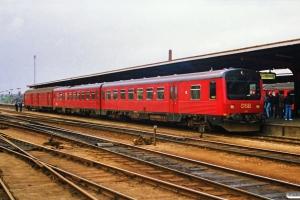 DSB MR/D 17+Pm 735 som P 2768 Od-Ngf. Odense 20.04.1989.