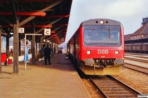 DSB MR/D 57 som P 3637 Fa-Es. Kolding 10.02.1990.