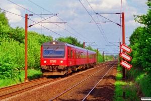 DSB MR/D 75 som RV 3153 Ngf-Fa. Km 24,8 Ng (Marslev-Odense) 04.06.1996.