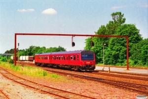 DSB MR/D 21 som RV 3636 Fa-Es. Vejen 21.07.1996.