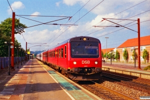 DSB MR/D 87+MR/D 65+MR/D 18 som RV 3136 Ar-Ngf. Middelfart 23.09.1996.