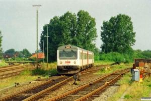DSB MR/D 28 som RV 5625 Tdr-Niebüll. Niebüll 24.08.2001.
