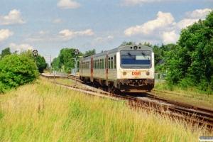 DSB MR/D 54 som RV 2839 Svg-Od. Højby 12.07.2002.
