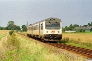 DSB MR/D 79 som RV 2839 Svg-Od. Km 27,8 Od (Rudme-Kværndrup) 24.08.2002.