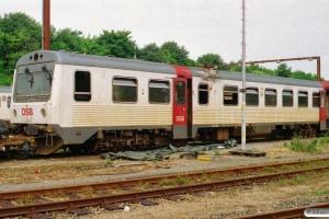 DSB MR 4029. Brændt i Kværkeby 31.03.2005. Fredericia 03.07.2005.