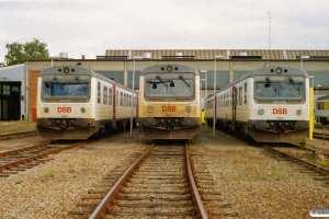 DSB MR/D 62, MR/D 37 og MR/D 89. Fredericia 15.09.2005.