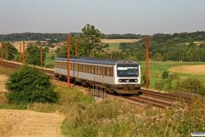 DSB MR/D 13 som RV 2310 Pa-Fa. Km 12,2 Fa (Taulov-Kolding) 20.08.2009.