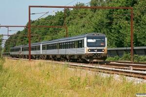 DSB MR/D 43+MR/D 75+MR/D 94 som M 7046 Fa-Rg. Ullerslev 03.07.2010.