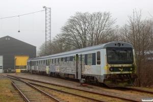 DSB MR/D 59 hensat. Fredericia 04.02.2017.
