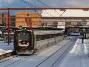 DSB ER 19 som RV 2753 Od-Fa. Odense 11.02.2021.