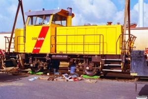 DSB MK 603 - Udskiftning af hjulaksler. Odense 22.03.1997.