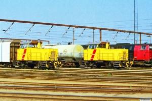 DSB MK 603 og MK 611. Odense 18.08.1997.