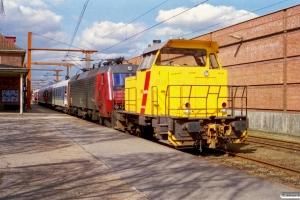 DSB MK 602+EA 3014. Padborg 11.04.2001.
