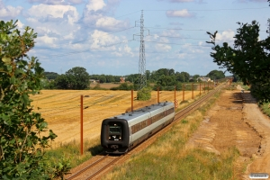 DSB MF 30 som IC 5729 Kd-Pa. Km 45,0 Fa (Farris-Sommersted) 06.08.2014.