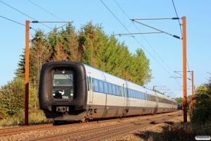 DSB MF 41+MF 70+MF 33 som L 55 Kh-Fh. Km 155,6 Kh (Marslev-Odense) 03.09.2014.