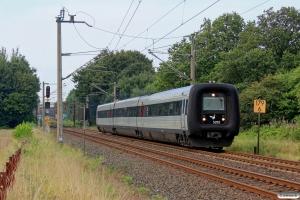DSB MF 92 som IC 5745 Kd-Flensburg. Padborg 05.09.2014.