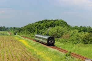 DSB MF 21 som RV 3738 Str-Fa. Km 92,6 Ho (Give-Gadbjerg) 02.06.2016.