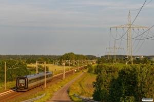 DSB MF 89 som IC 1187 Ar-Hamburg Hbf. Km 145,6 AA (Schuby-Jübek) 23.06.2019.
