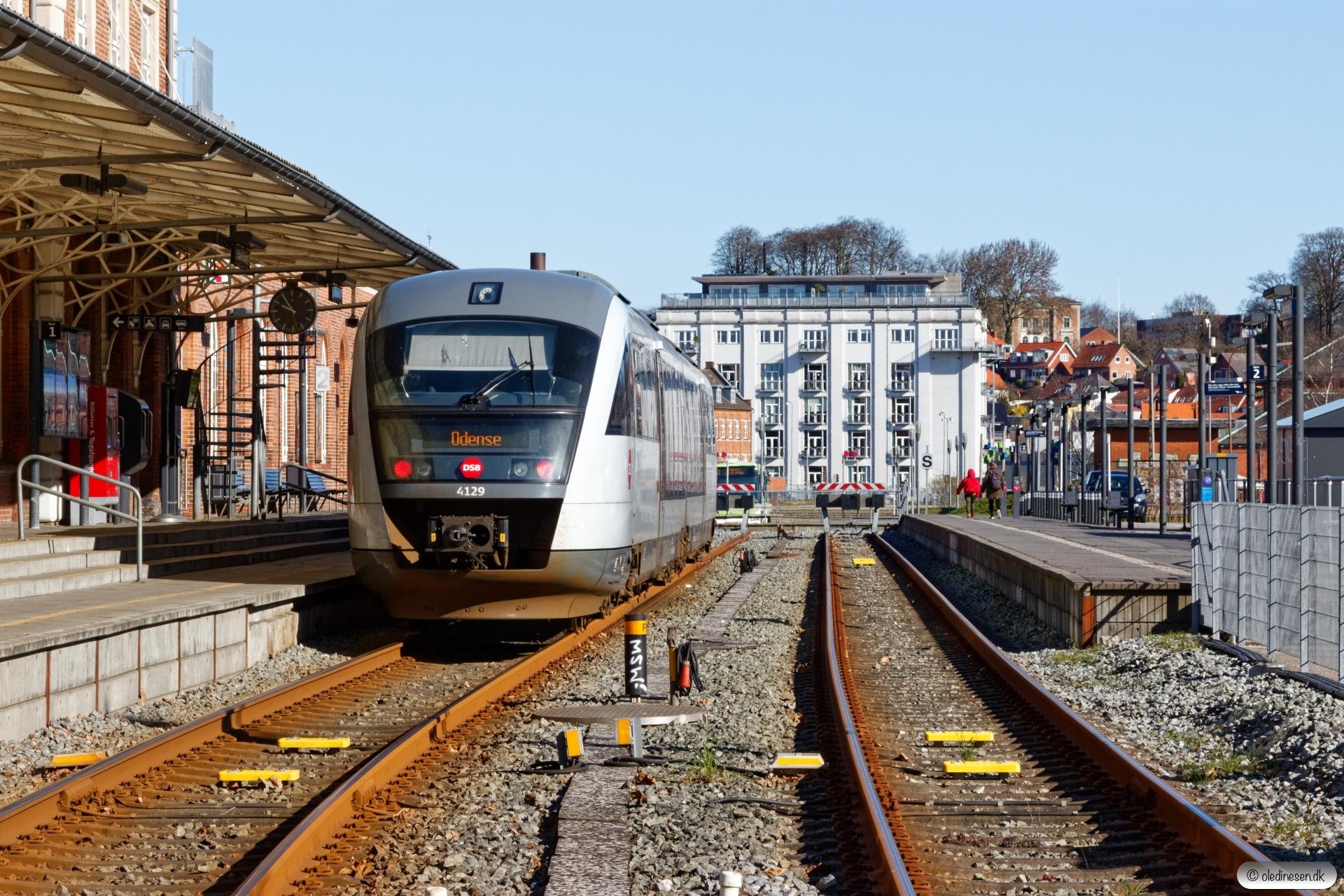 DSB MQ 29 som RV 4625 Od-Svg. Svendborg 21.03.2020.