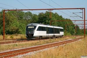DSB MQ 20 som RV 2744 Fa-Od. Kauslunde 20.08.2009.