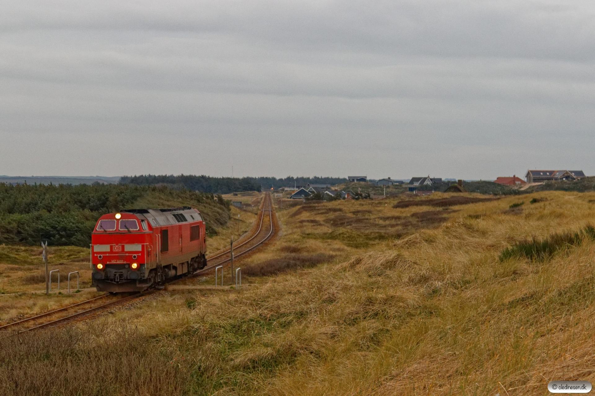 DBCSC MZ 1459 solo som Tog 155457 Vem-Røn. Victoria Street Station - Vrist 28.12.2019.