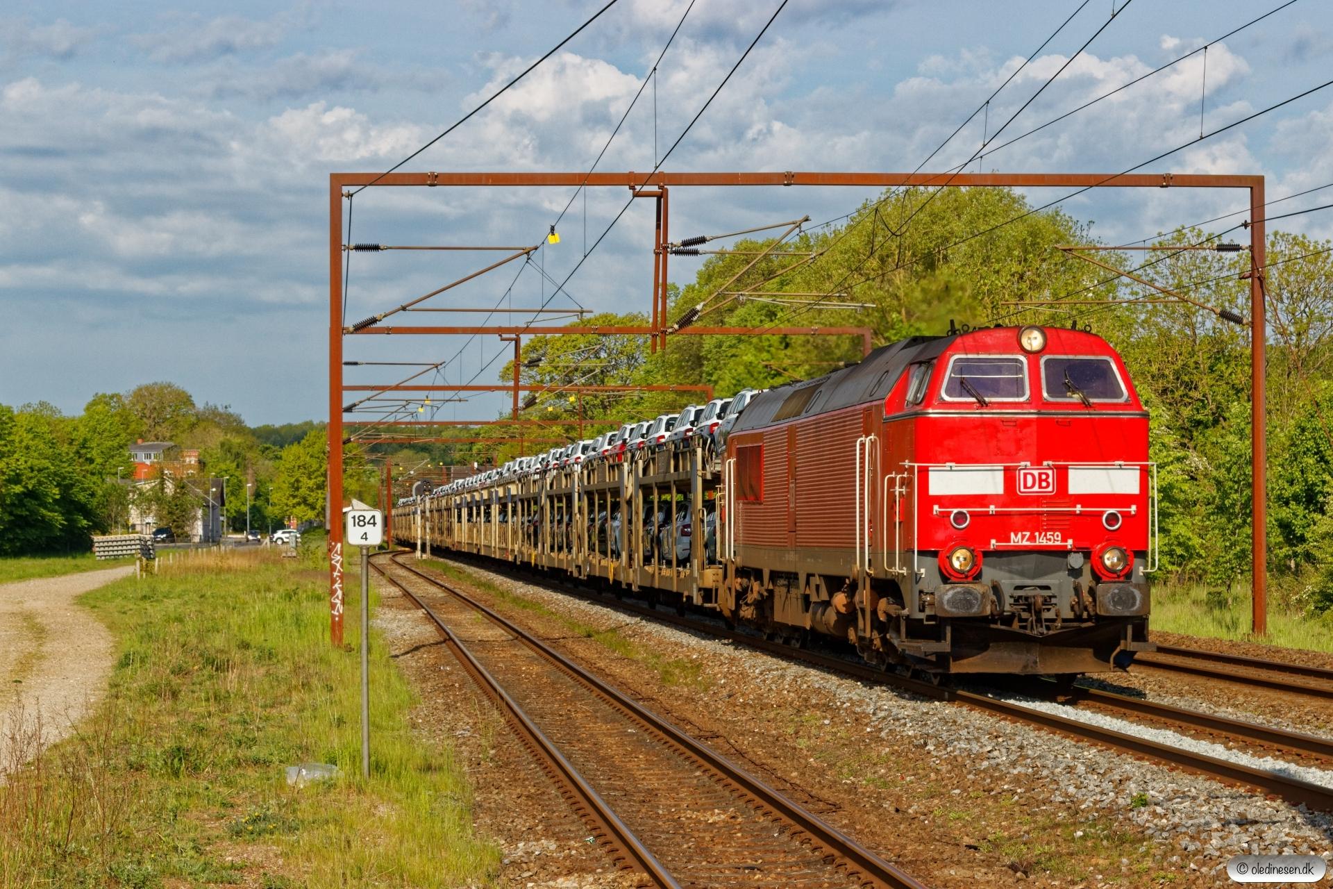 DBCSC MZ 1459 med G 7212 Vm-Rg. Årup 22.05.2020.