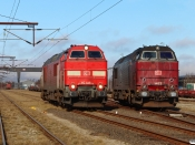 DBCSC MZ 1449 og MZ 1453. Høje Taastrup 27.02.2021.
