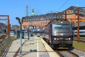 DSB ME 1509 med RØ 1237 Kh-Nf. København H 19.04.2014.