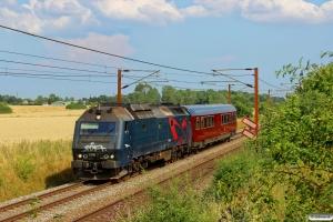 DSB ME 1526+S 001 som M 6347 Gb-Fa. Km 154,6 Kh (Marslev-Odense) 27.07.2014.