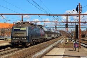 DSB ME 1521 med RØ 59235 Kh-Nf. Roskilde 03.04.2015.