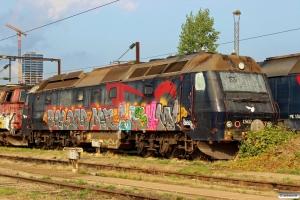 DSB ME 1502 hensat. København 04.09.2015.