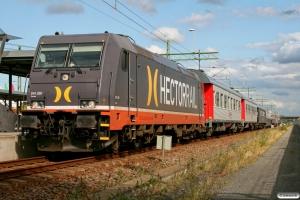 HCTOR 241.001 med RST 7163. Svågertorp 22.08.2009.