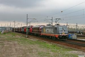 HCTOR 241.007+DSB MX 1001+MY 1159+MZ 1401+DB 5101+CLE 1678+CL 1514+CLL 1476 som TJT 38906. Malmö 13.05.2010.