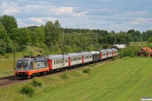 HCTOR 242.503 med RST 7151. Gistad - Linghem 07.06.2012.