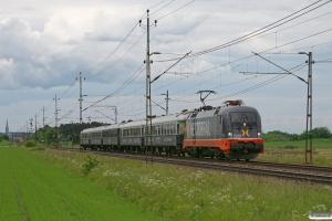 HCTOR 242.532 med RST 7150. Lingköping - Linghem 07.06.2012.