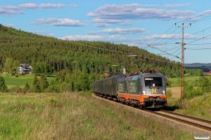 HCTOR 242.532+242.531 med GT 41431. Österås - Långsele 13.06.2017.